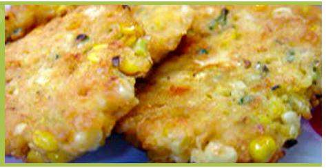 corn corn corn corn cakes.